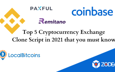 Top 5 Cryptocurrency Exchange Clone Script in 2021 that you must know!
