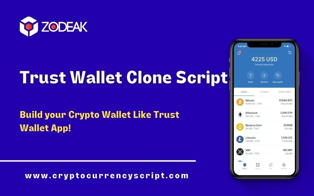 TrustWallet Clone Script – Create your own Crypto Wallet App like Trustwallet