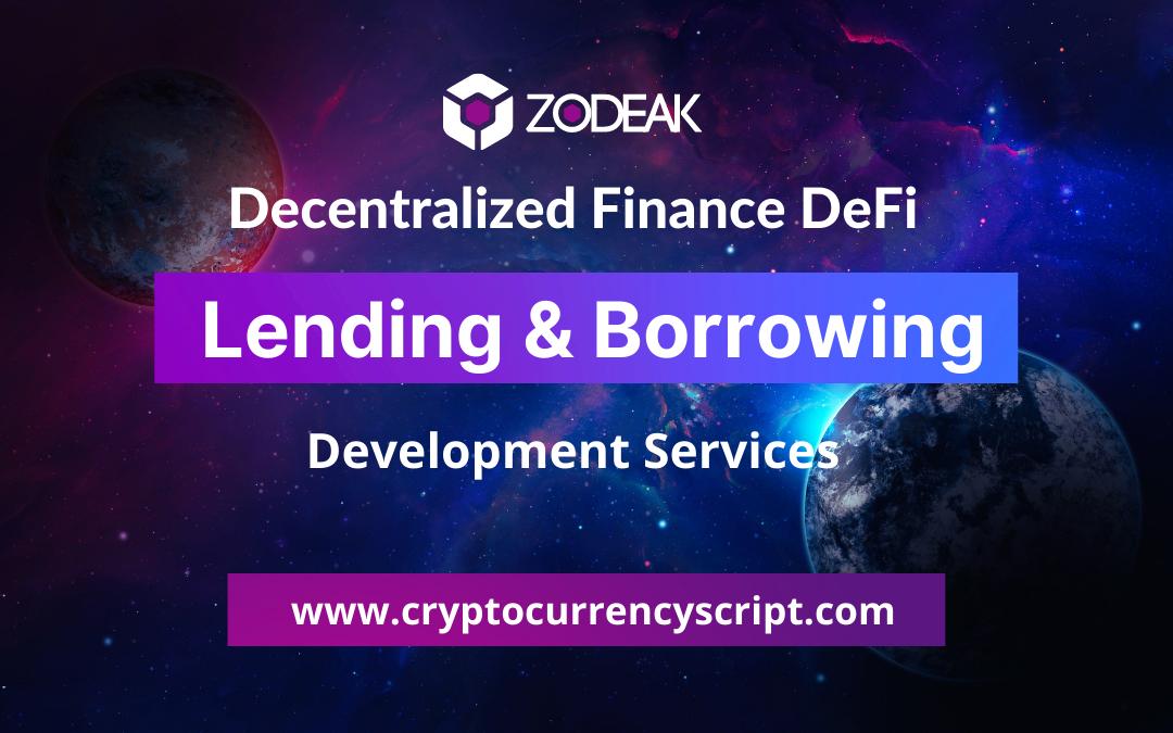 DeFi Lending & borrowing platform development
