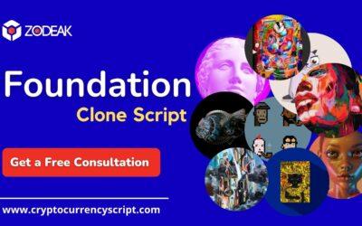 Foundation Clone Script – Create NFT Marketplace like Foundation